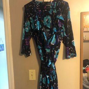 Lane Bryant 18/20 wrap dress